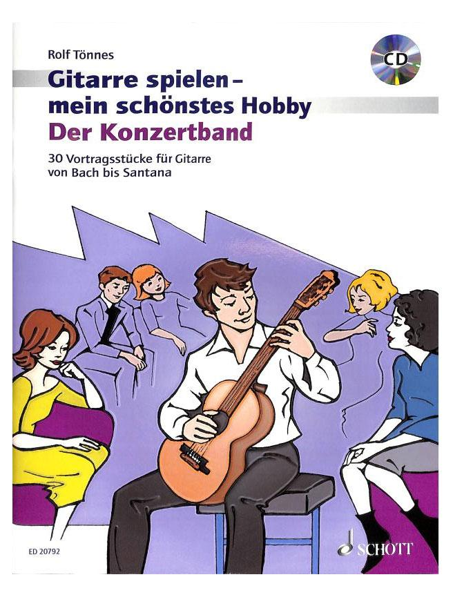 Gitarrelernen - Gitarre spielen Mein schönstes Hobby, der Konzertband CD - Onlineshop Musikhaus Kirstein