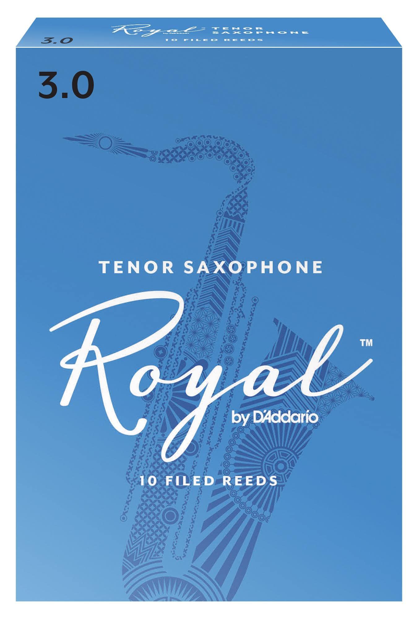 D'Addario Royal 10er Pack Tenorsaxophon Blätter Stärke 3