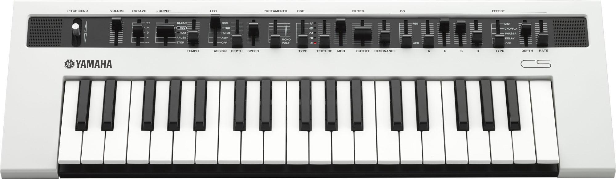 Yamaha Reface CS Synthesizer weiß