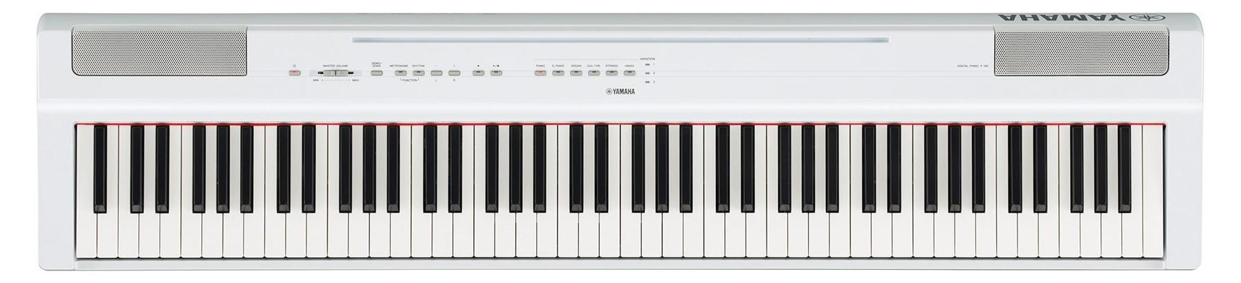 Stagepianos - Yamaha P 125WH Stage Piano Weiß - Onlineshop Musikhaus Kirstein