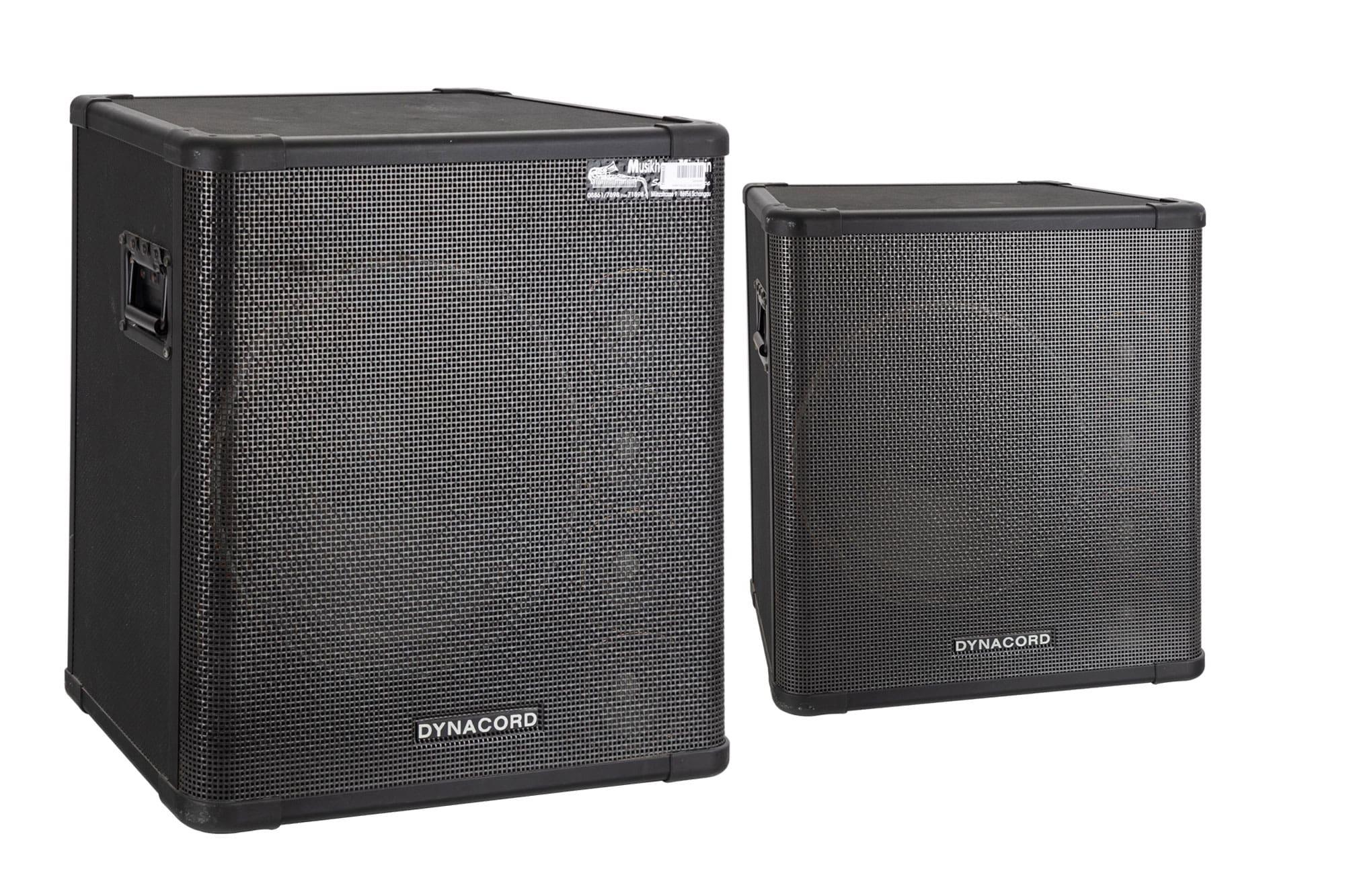 Paendstufen - 2x Dynacord SRX 150 Passivbox 400 800 Watt gebraucht - Onlineshop Musikhaus Kirstein