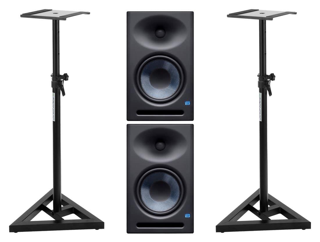Studiomonitore - Presonus Eris E8 XT Aktives Studiomonitor Set inkl. Boxenstativ - Onlineshop Musikhaus Kirstein