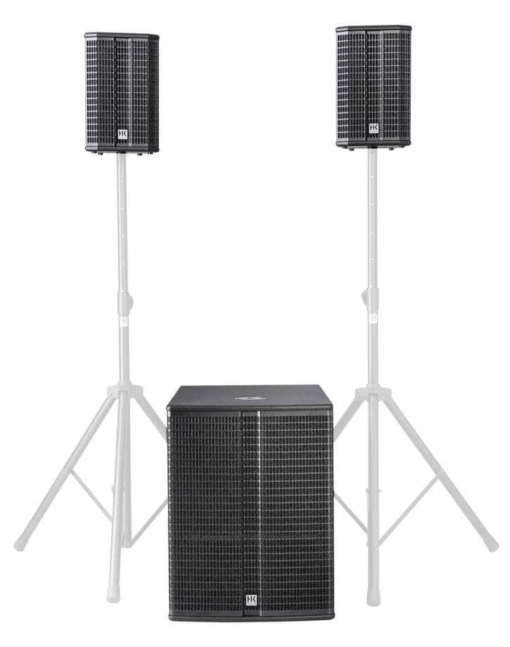 Boxenkomplettanlagen - HK Audio Lucas 2K18 System Aktivanlage - Onlineshop Musikhaus Kirstein