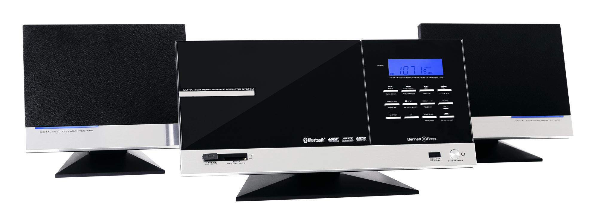 bennett ross t nsberg vertikal stereoanlage mit cd mp3. Black Bedroom Furniture Sets. Home Design Ideas