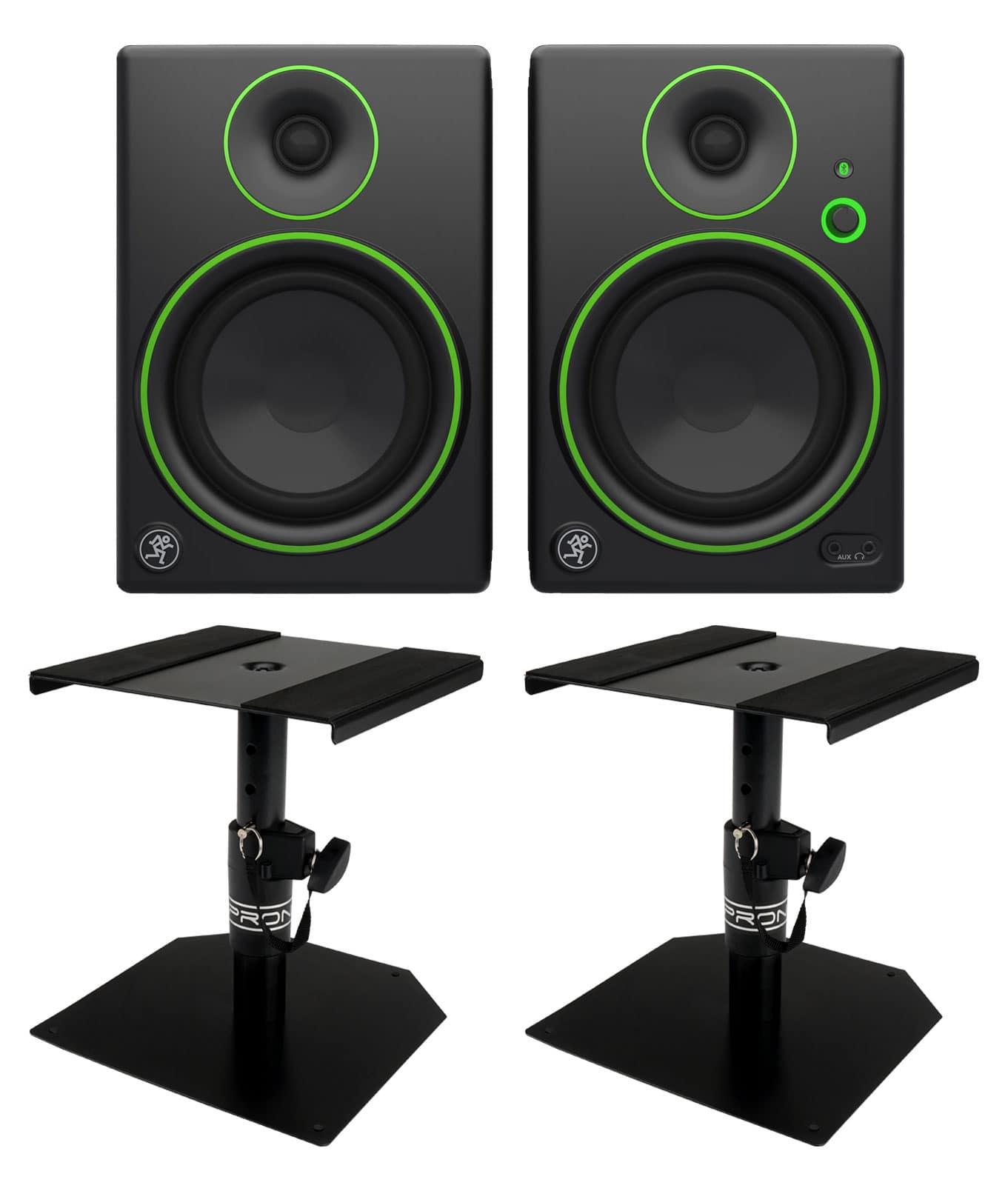 Studiomonitore - Mackie CR5BT Monitor Tischstativ Set - Onlineshop Musikhaus Kirstein