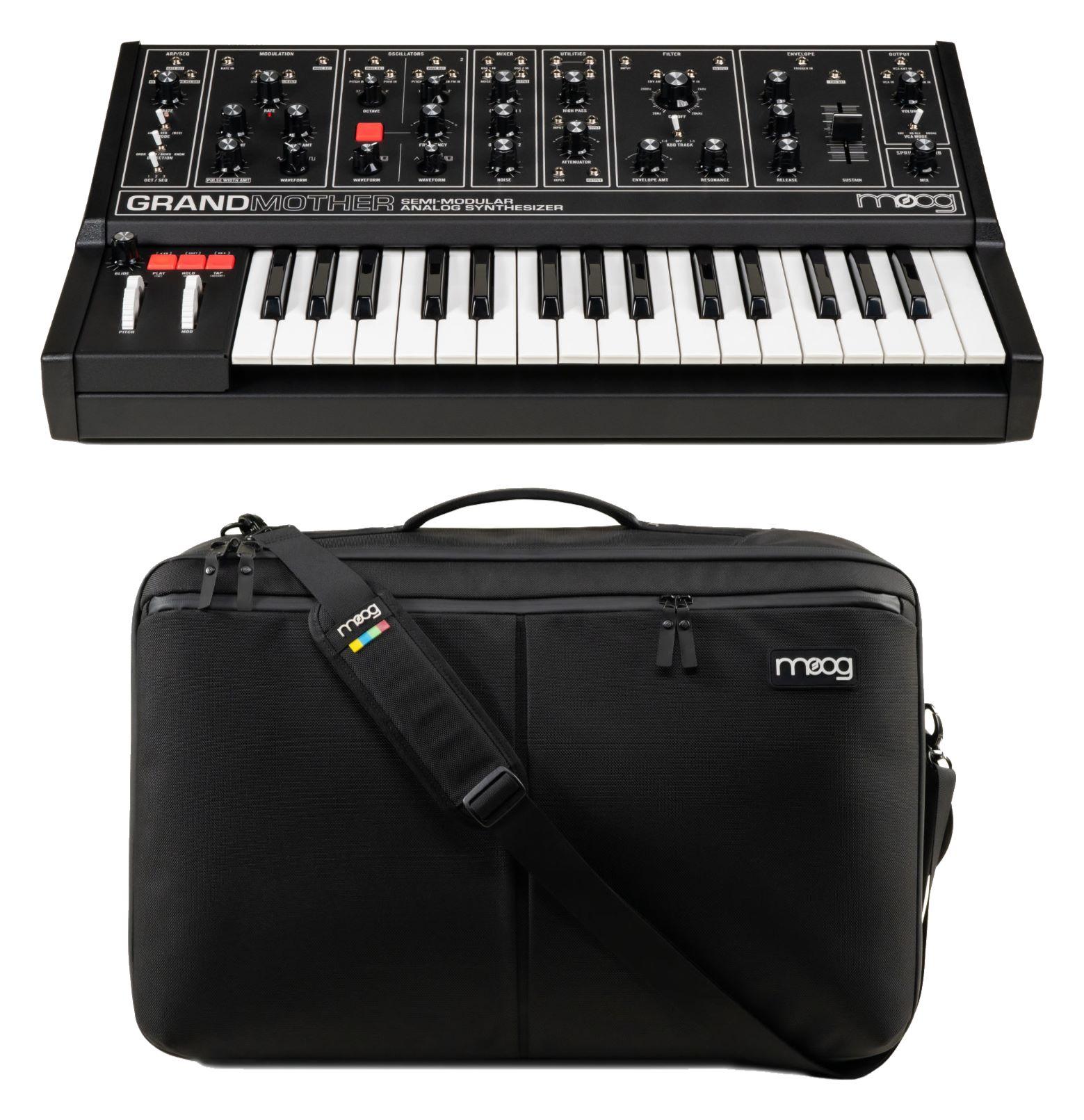 Synthesizer - Moog Grandmother Dark Set - Onlineshop Musikhaus Kirstein