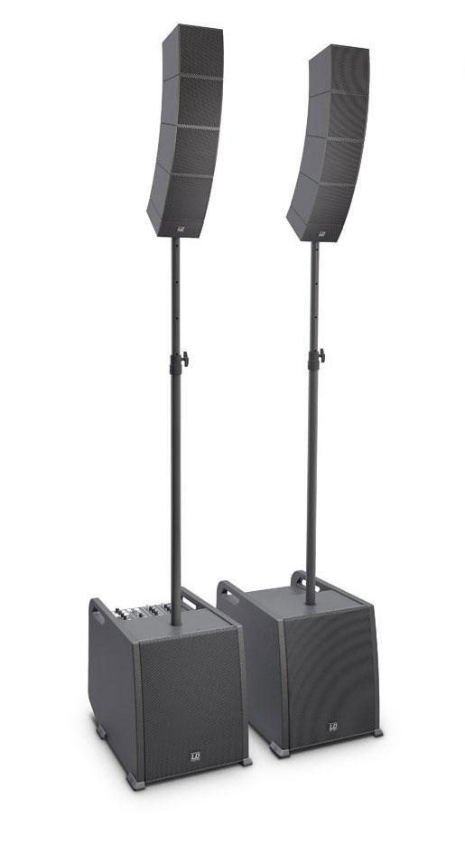 Boxenkomplettanlagen - LD Systems CURV 500 PS Aktivanlage inkl. Distanzstange Lautsprecherkabel - Onlineshop Musikhaus Kirstein