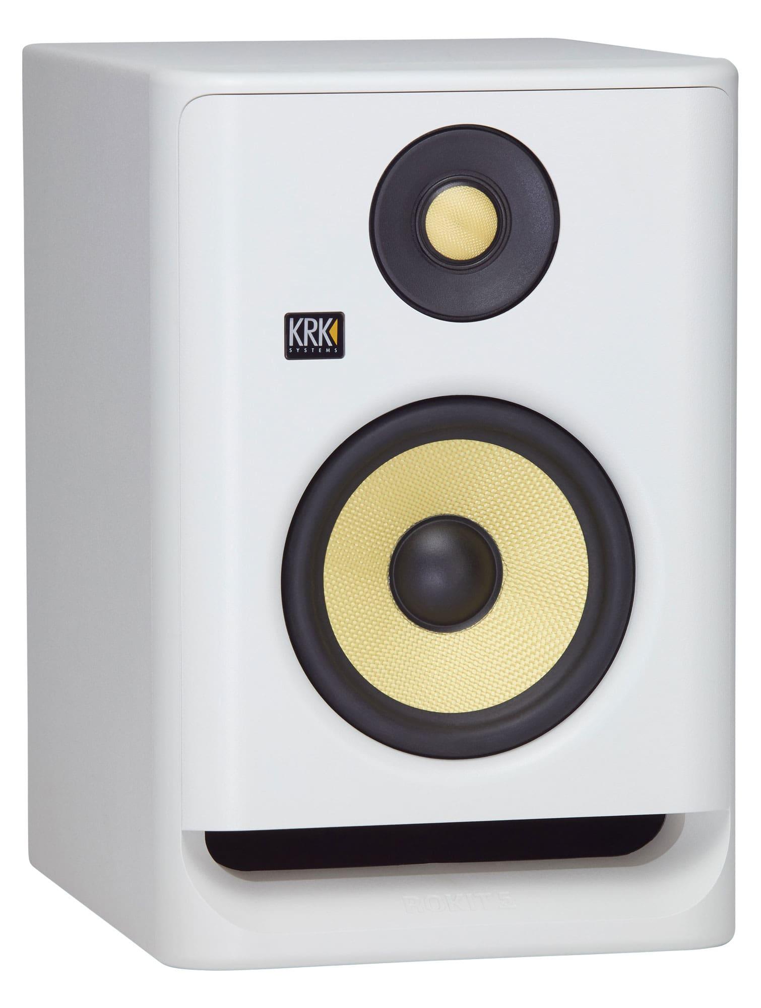 Studiomonitore - KRK ROKIT RP5 G4 White Noise - Onlineshop Musikhaus Kirstein