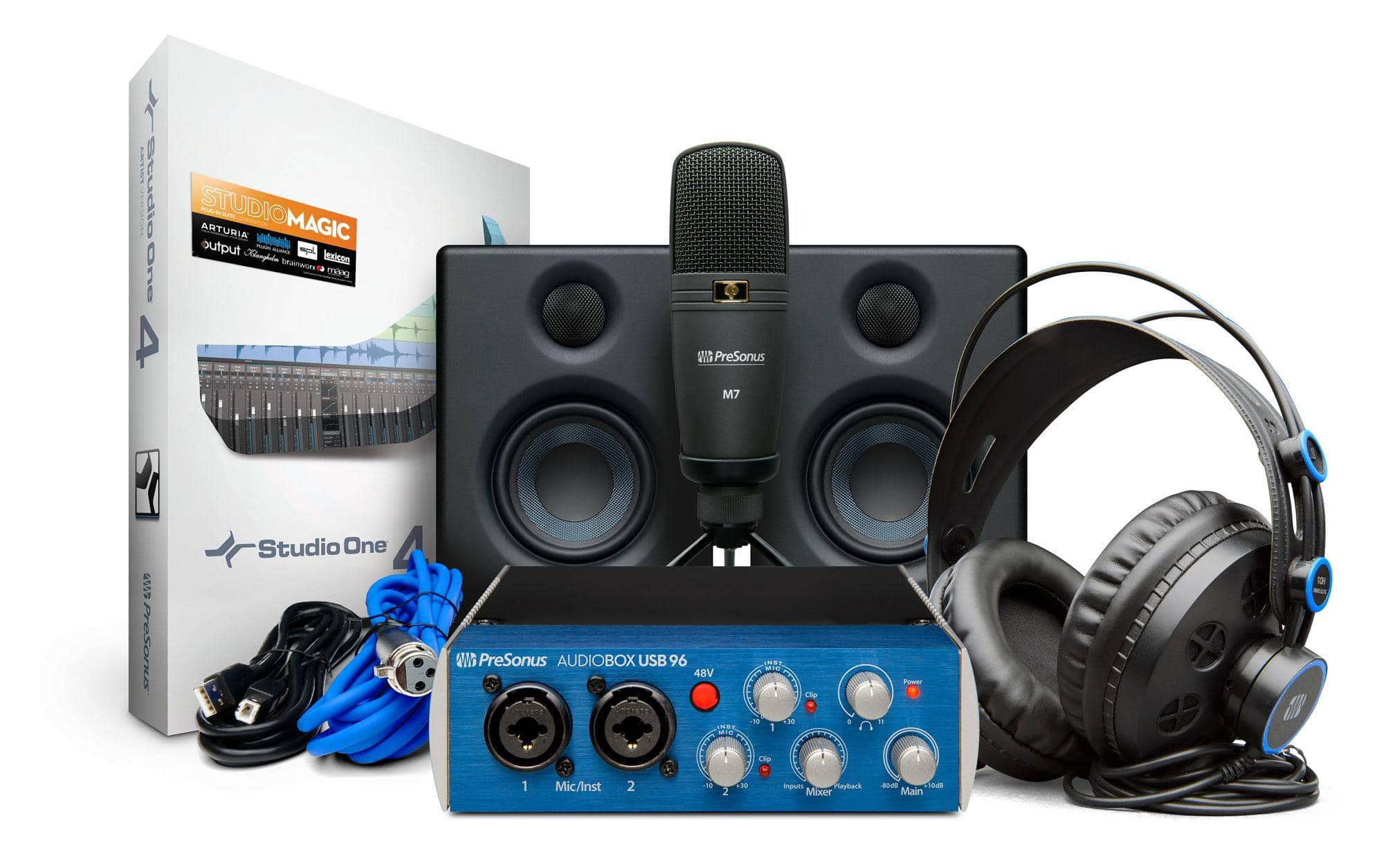 PreSonus AudioBox96 Studio Ultimate Bundle