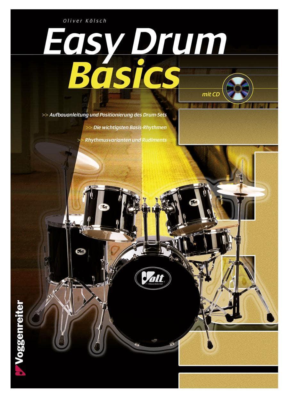 Drumslernen - Easy Drum Basics CD - Onlineshop Musikhaus Kirstein