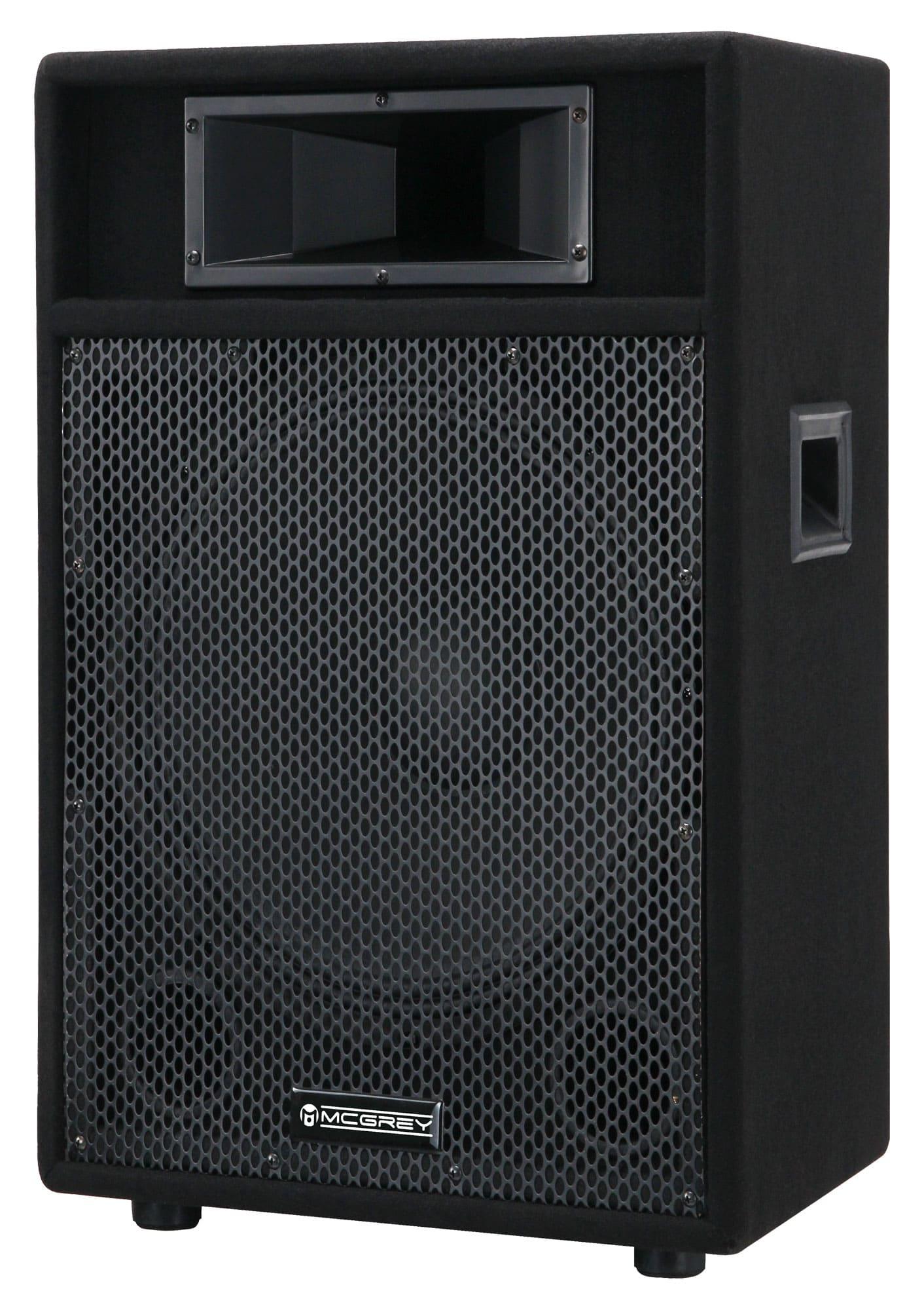 McGrey PA 115 passive PA Lautsprecher Box 400 Watt Retoure (Zustand akzeptabel)