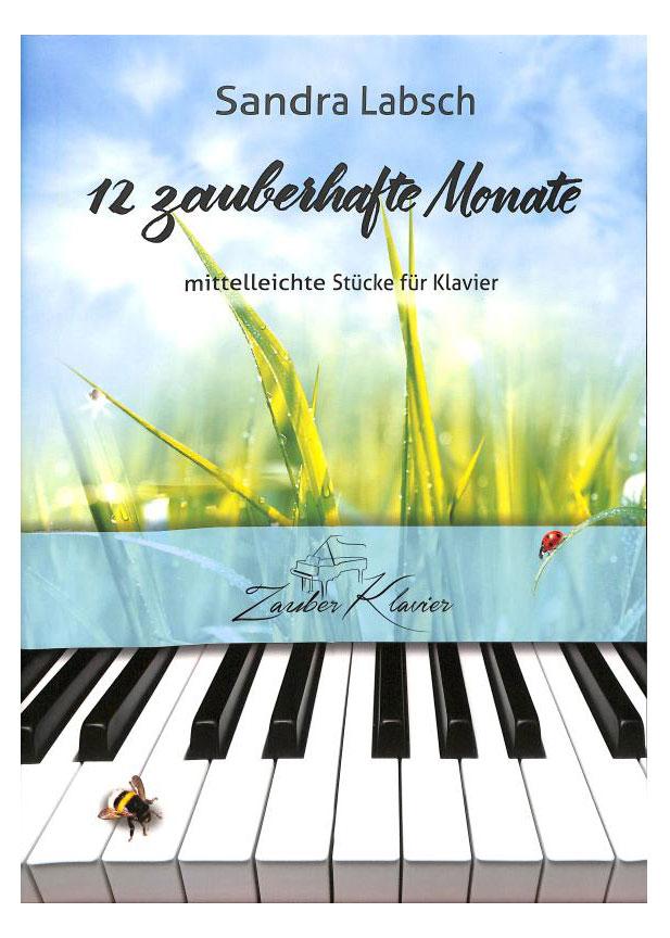 Klavierlernen - 12 zauberhafte Monate mittelleichte Stücke für Klavier - Onlineshop Musikhaus Kirstein