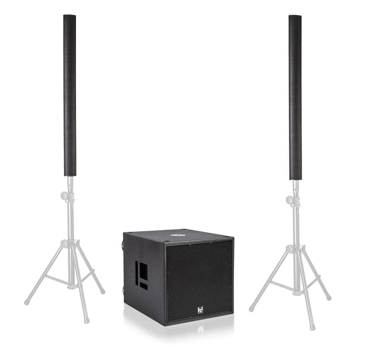 Harmonic Design PL12|P18 Basis Multi DSP Aktivsystem 3700 Watt