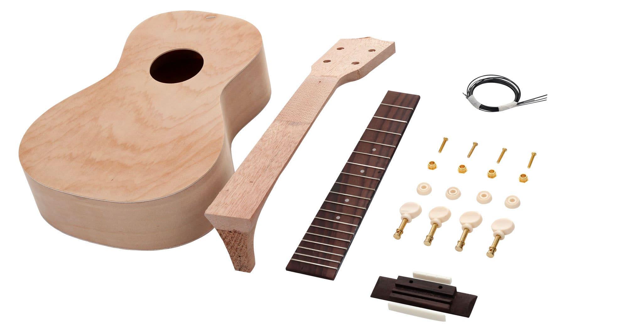 Diy ukulele kit for Diy pictures