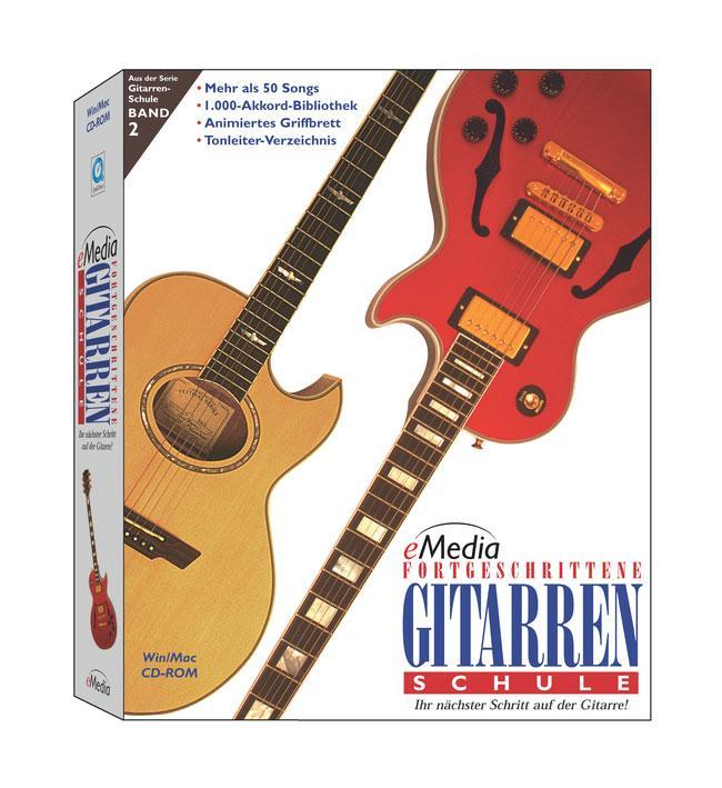 eMedia Gitarrenschule für Fortgeschrittene, Vol. 2