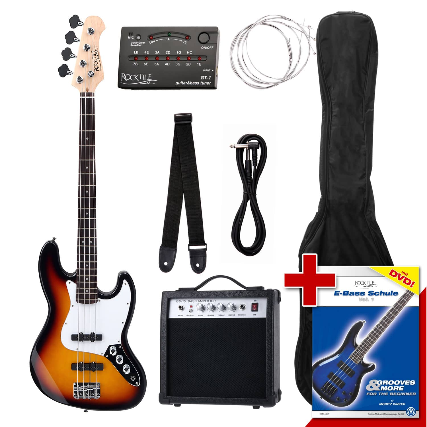 Rocktile Groover's Pack E Bass Set II