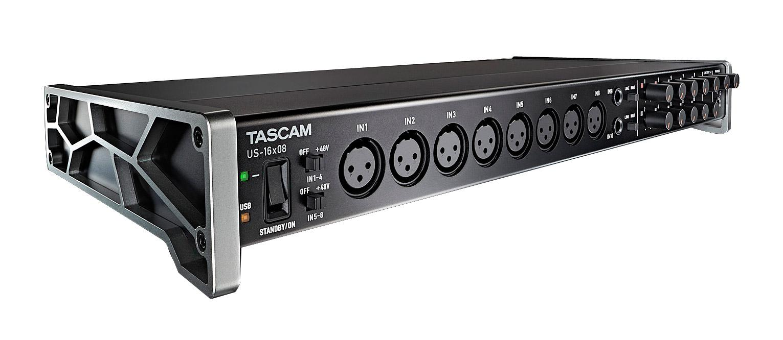 Pchardware - Tascam US 16x08 USB Audio Interface - Onlineshop Musikhaus Kirstein