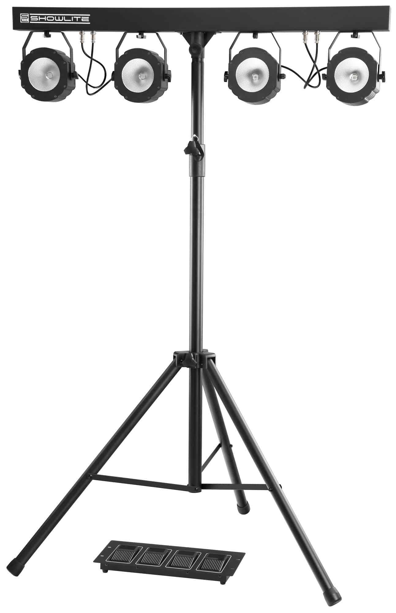 Showlite LB 430 COB Komplettanlage 4x30W RGB LED
