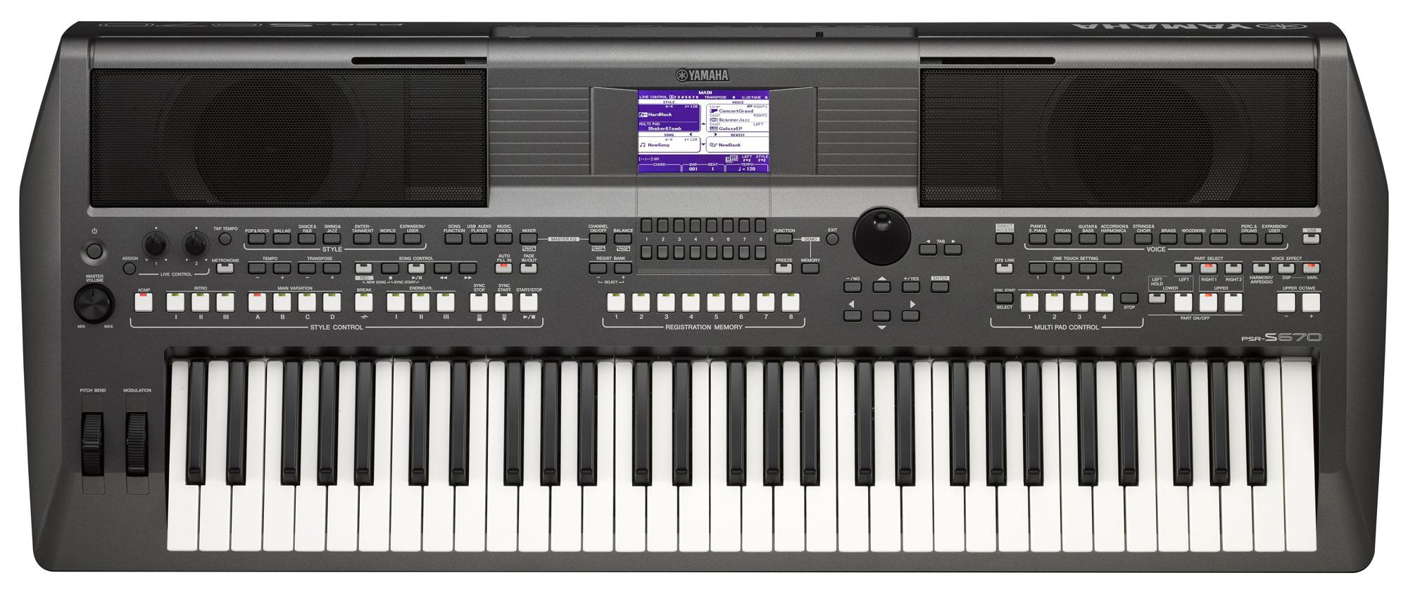 yamaha psr s670 keyboard. Black Bedroom Furniture Sets. Home Design Ideas