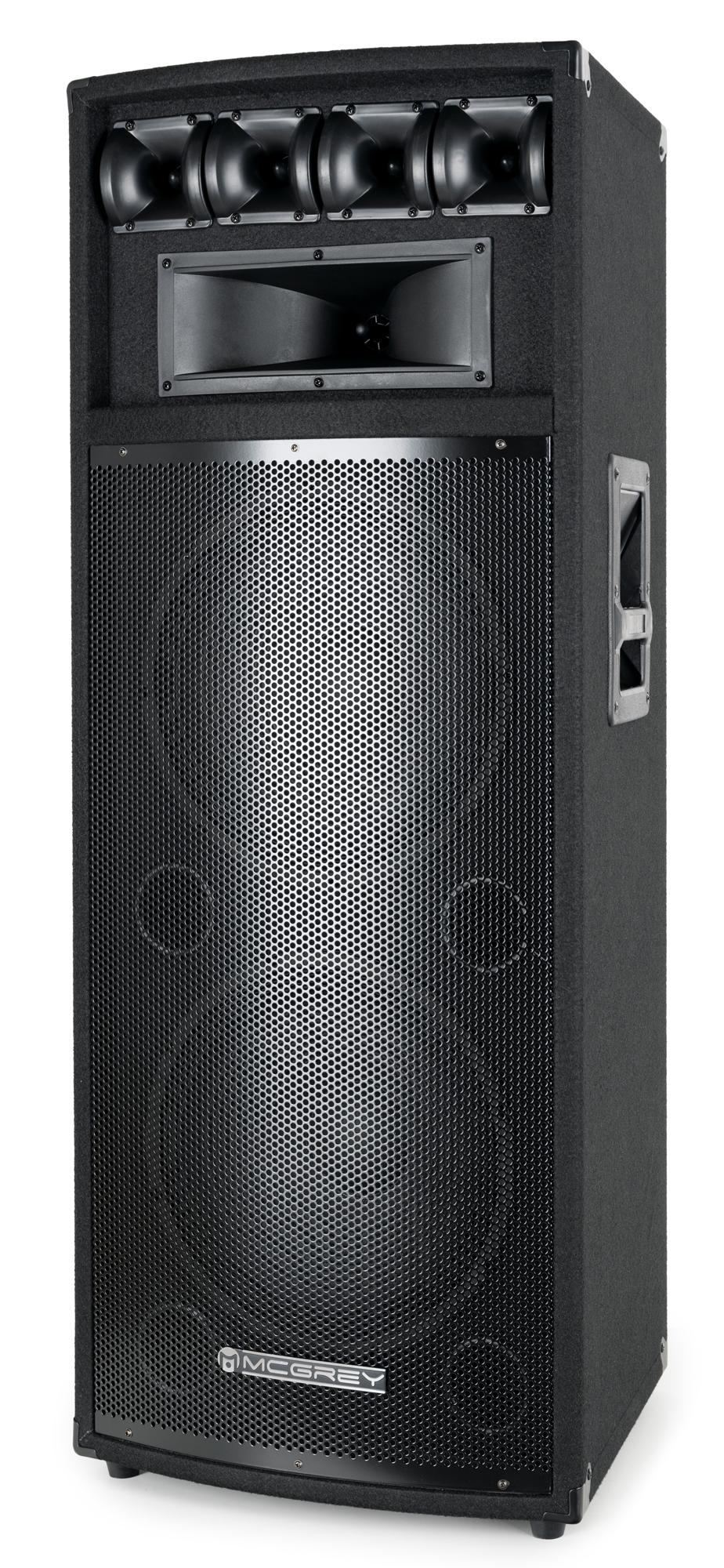 Paendstufen - McGrey PowerDJ 212 Passiv Box Retoure (Zustand gut) - Onlineshop Musikhaus Kirstein