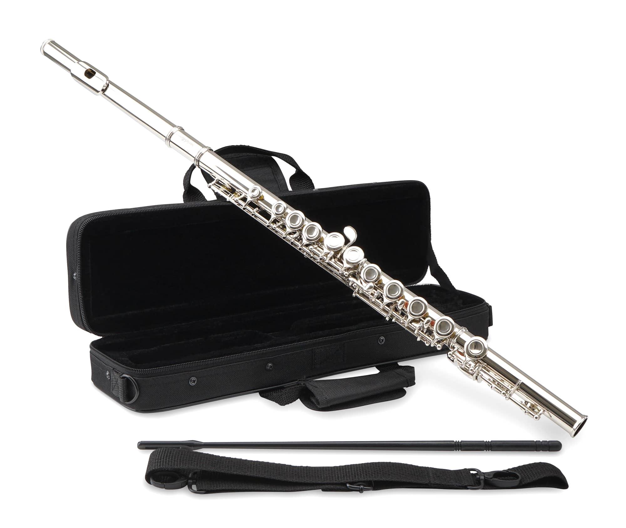 Sonstigeblasinstrumente - Classic Cantabile FL 100 Querflöte, Neusilber - Onlineshop Musikhaus Kirstein