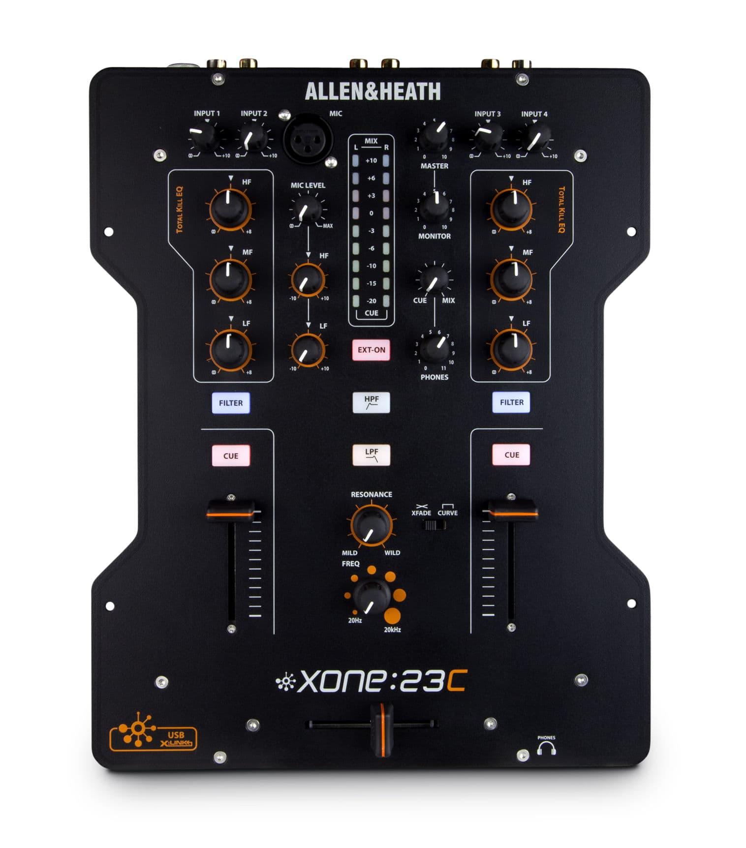 Djmixer - Allen Heath Xone 23C - Onlineshop Musikhaus Kirstein