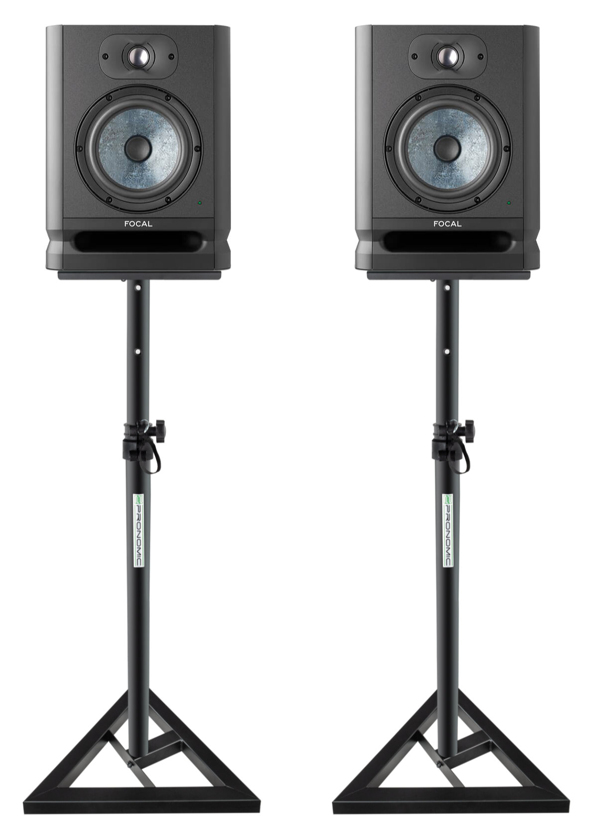 Studiomonitore - Focal Alpha EVO 65 Studiomonitor Set Stativ - Onlineshop Musikhaus Kirstein