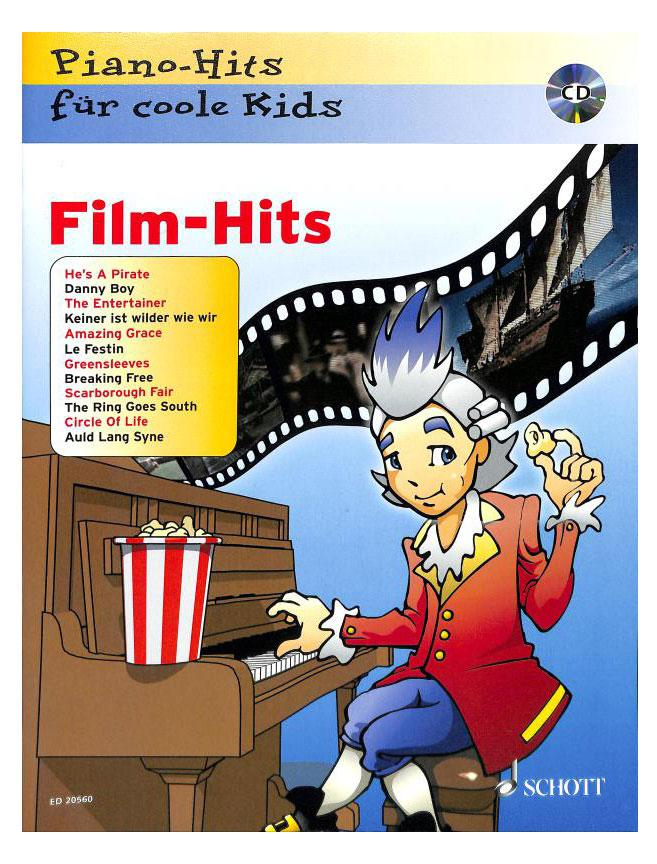 Piano Hits für coole Kids FILM HITS inkl. CD
