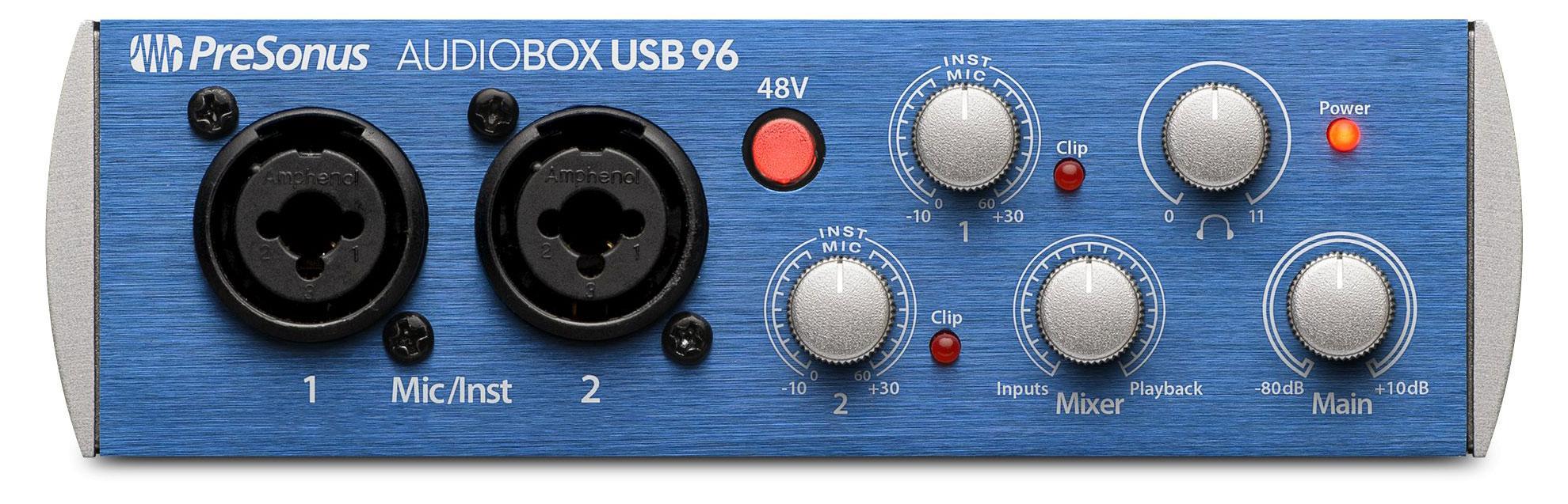 Pchardware - PreSonus AudioBox USB 96 - Onlineshop Musikhaus Kirstein