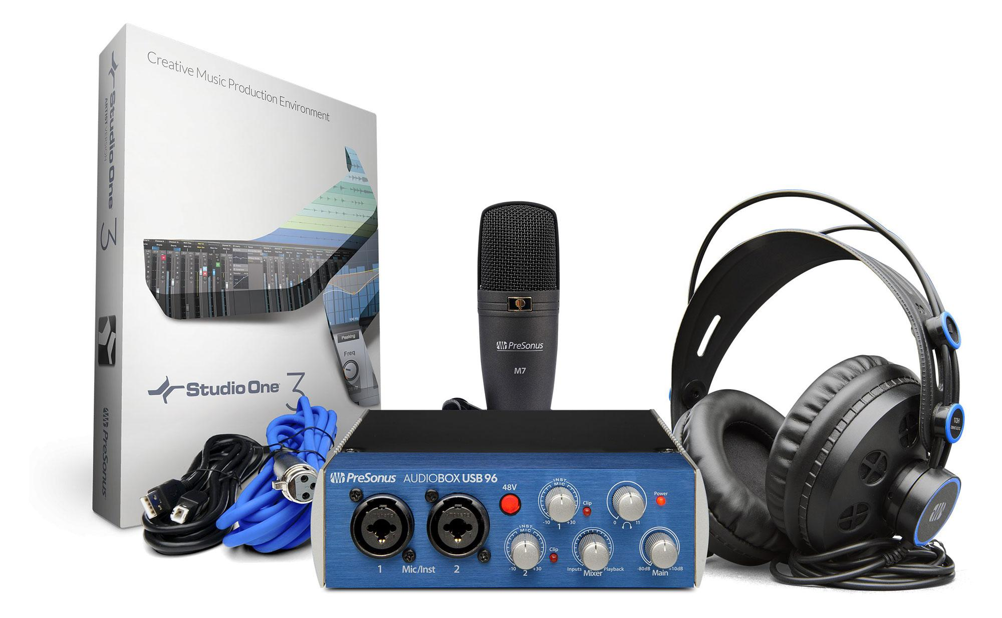 Presonus AudioBox 96 Studio Recording Kit
