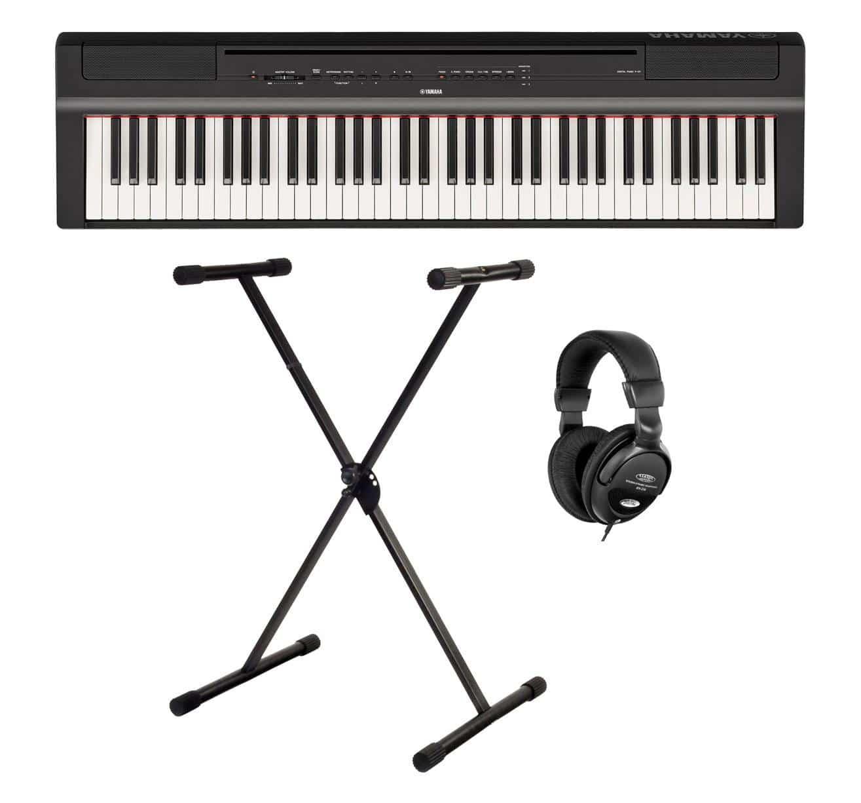 Yamaha P 121B Stage Piano Set Schwarz