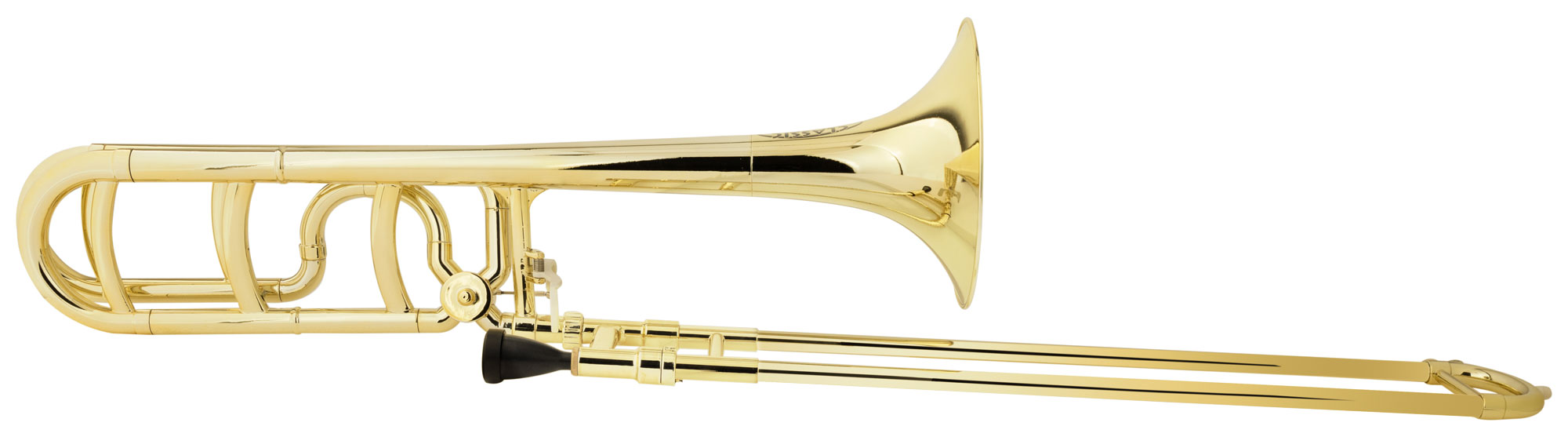 Posaunen - Classic Cantabile MardiBrass Kunststoff Bb|F Quartposaune gold - Onlineshop Musikhaus Kirstein