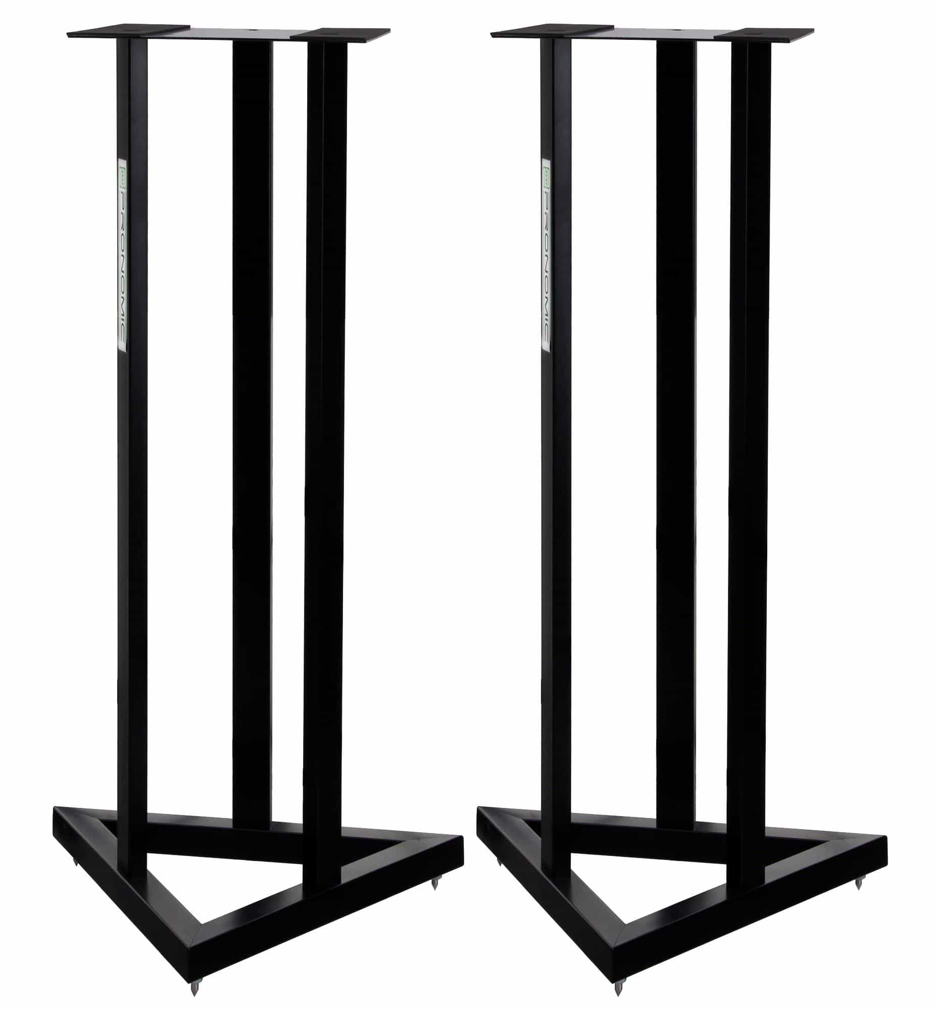 pronomic scs 20 speaker stand for studio monitor pair of stands kirstein music shop. Black Bedroom Furniture Sets. Home Design Ideas