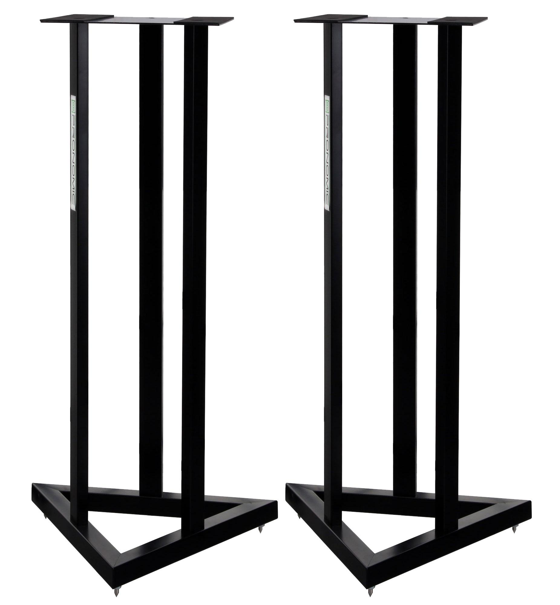pronomic scs 20 speaker stand for studio monitor pair of stands. Black Bedroom Furniture Sets. Home Design Ideas