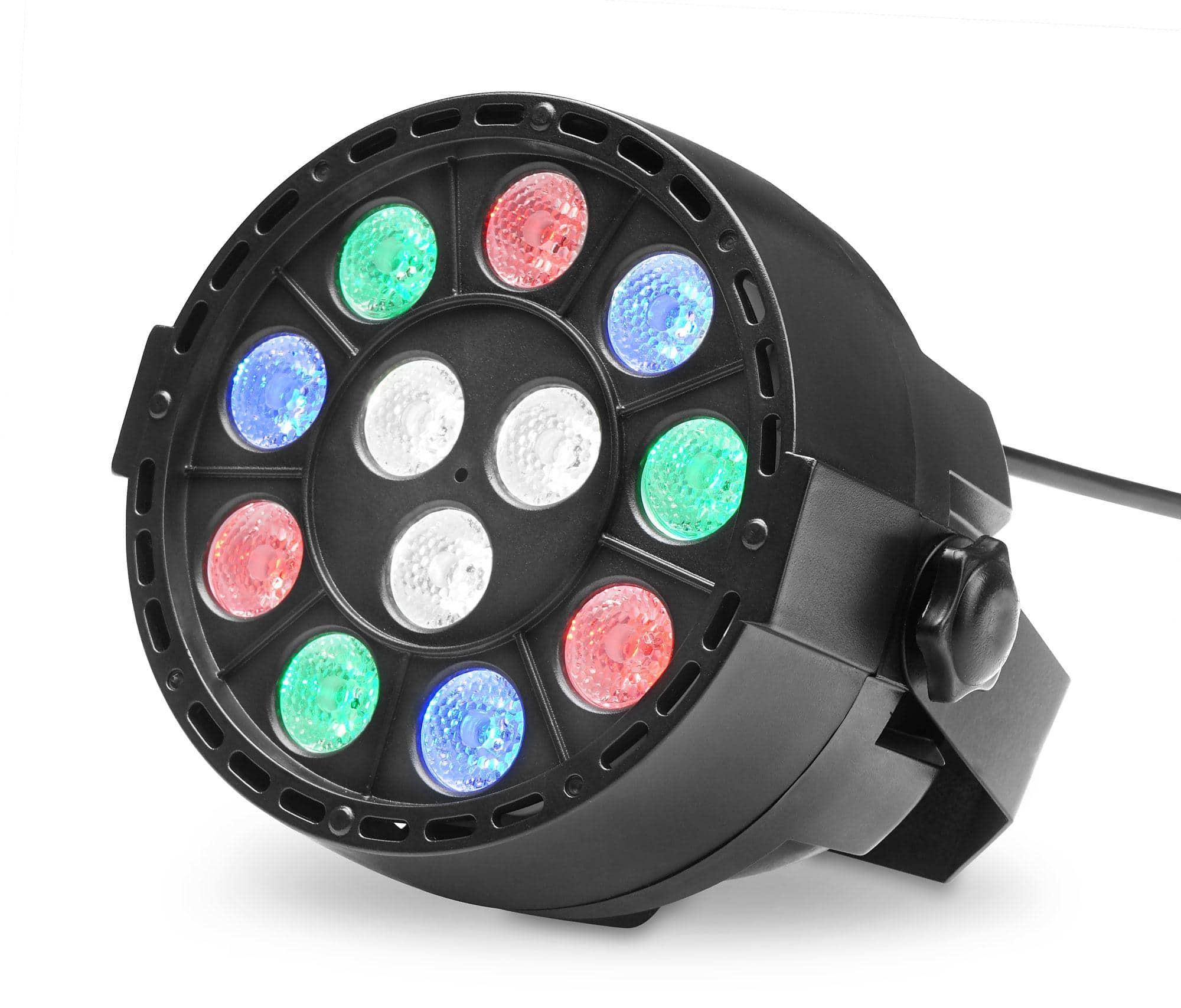 Scheinwerfer - Showlite SPS 121 LED Smart Party Spot 12x 1W RGBW - Onlineshop Musikhaus Kirstein