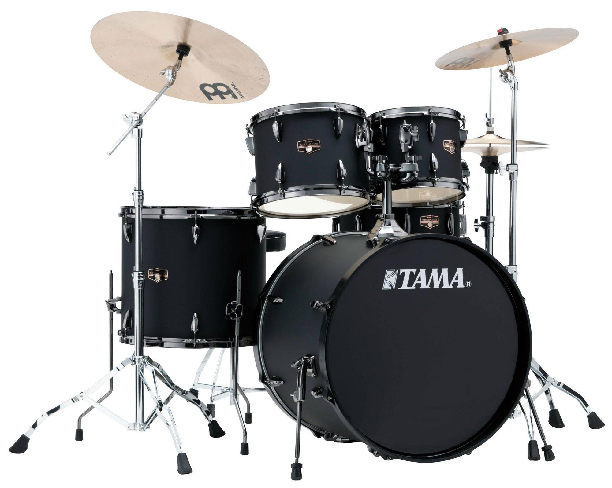 Tama IP52KH6N BBOB Imperialstar Drumkit Blacked Out Black