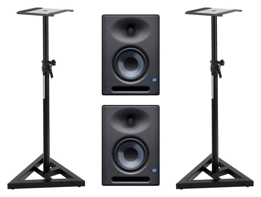 Studiomonitore - Presouns Eris E5 XT Aktives Studiomonitor Set inkl. Boxenstativ - Onlineshop Musikhaus Kirstein