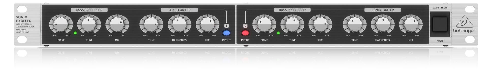 Studioeffekte - Behringer SX3040 V2 Sonic Exciter - Onlineshop Musikhaus Kirstein
