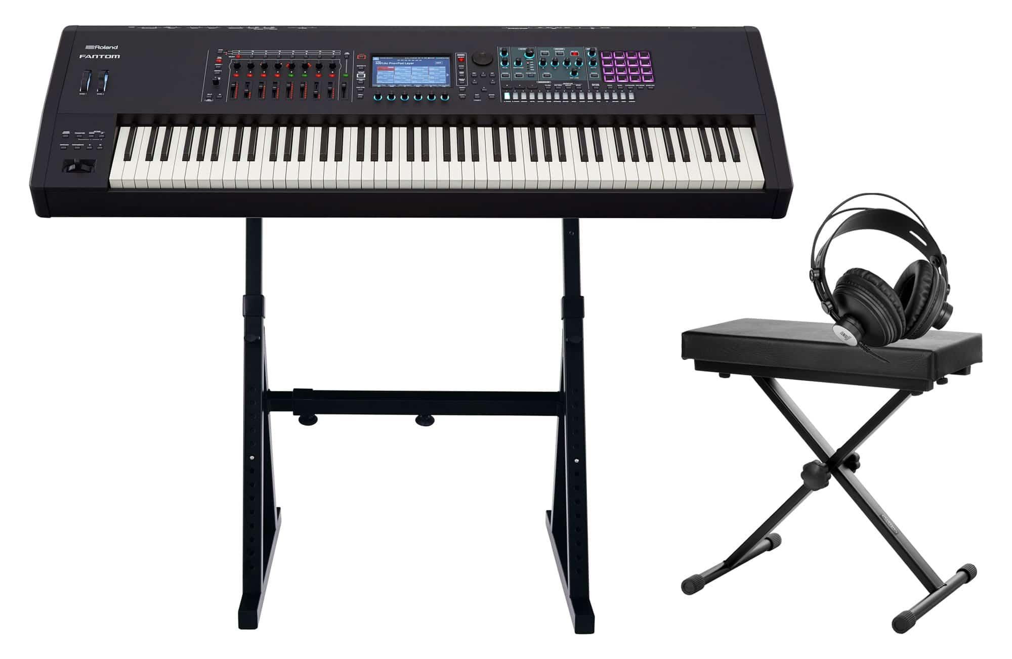 Synthesizer - Roland Fantom 8 Set - Onlineshop Musikhaus Kirstein