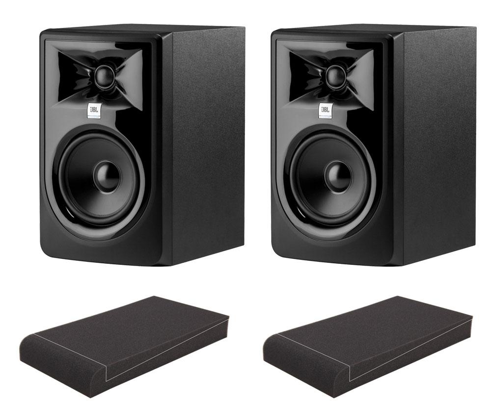 Studiomonitore - JBL 305P MKII Aktiv Studiomonitor ISO Set - Onlineshop Musikhaus Kirstein