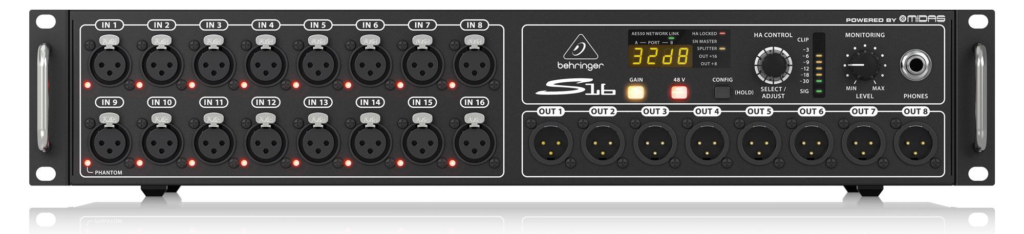 Kabelmulticores - Behringer S16 Digitale Stagebox - Onlineshop Musikhaus Kirstein