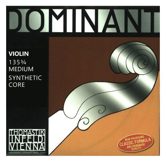 Streichsaiten - Thomastik Dominant 135 3 4 Saitensatz für Violine 3 4 - Onlineshop Musikhaus Kirstein