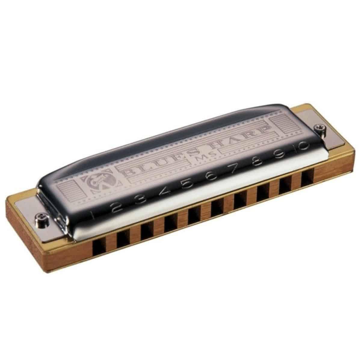 Hohner Blues Harp MS H 20 Stimmzungen engl.Tonart B