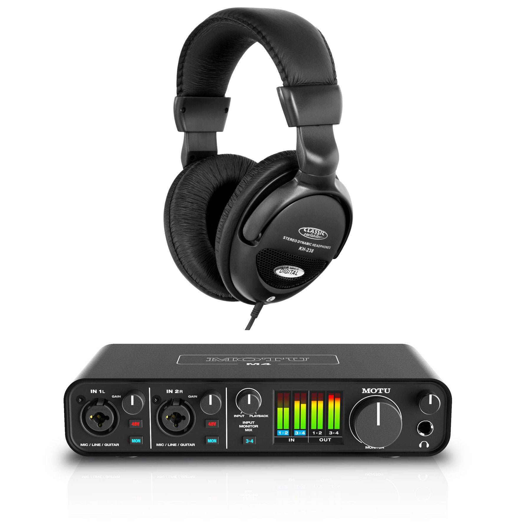 Pchardware - MOTU M4 Audiointerface Set - Onlineshop Musikhaus Kirstein