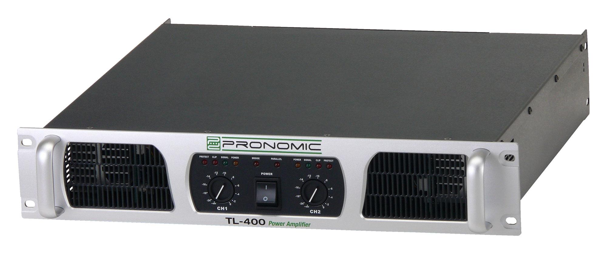 Pronomic TL 400 Endstufe 2x 1000 Watt unvollständig!
