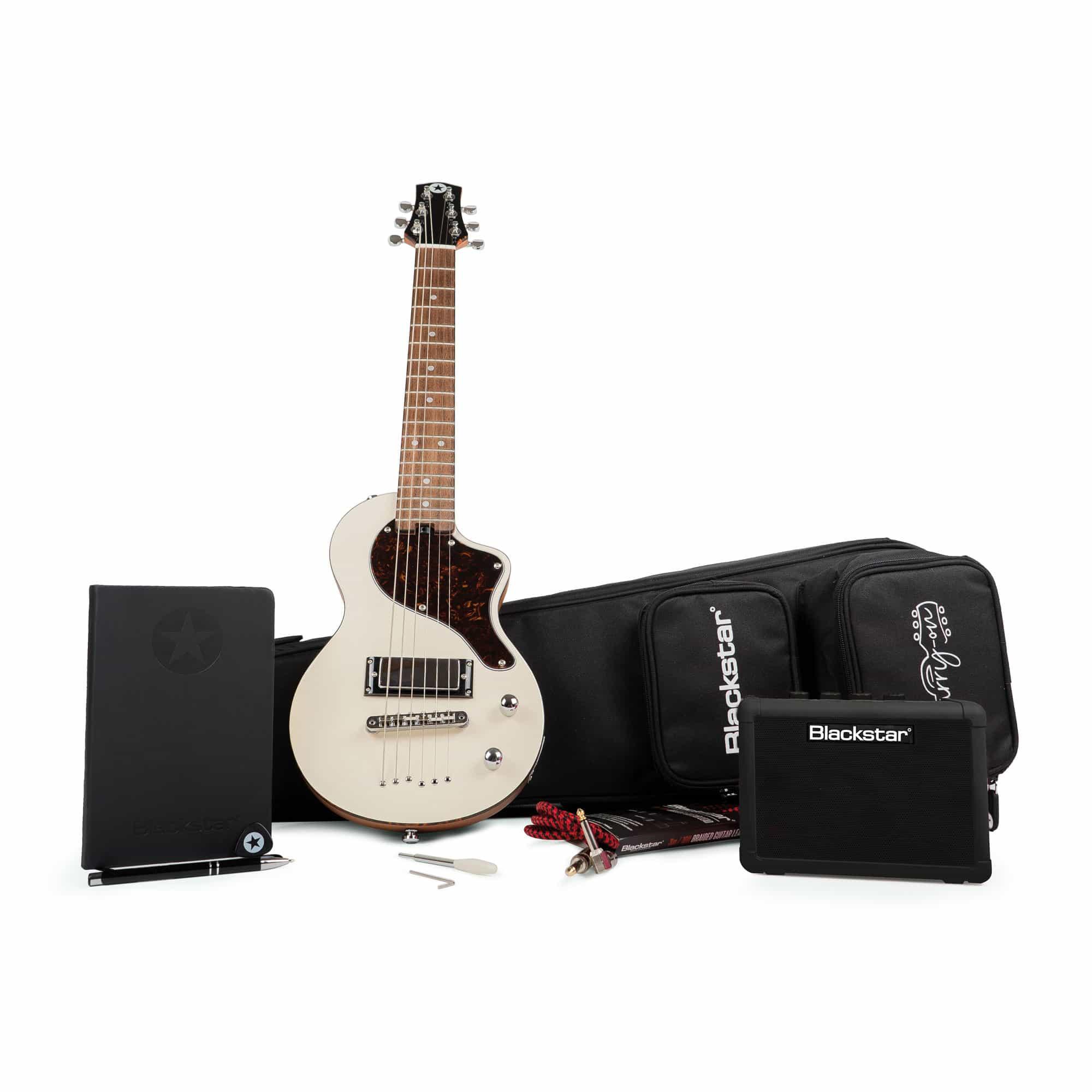 Kindergitarren - Blackstar Carry on Deluxe Pack Vintage White - Onlineshop Musikhaus Kirstein