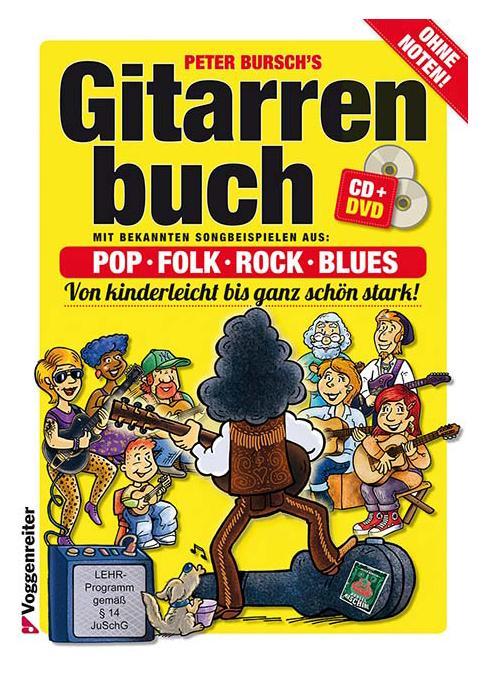 Gitarrelernen - Peter Bursch's Gitarrenbuch - Onlineshop Musikhaus Kirstein