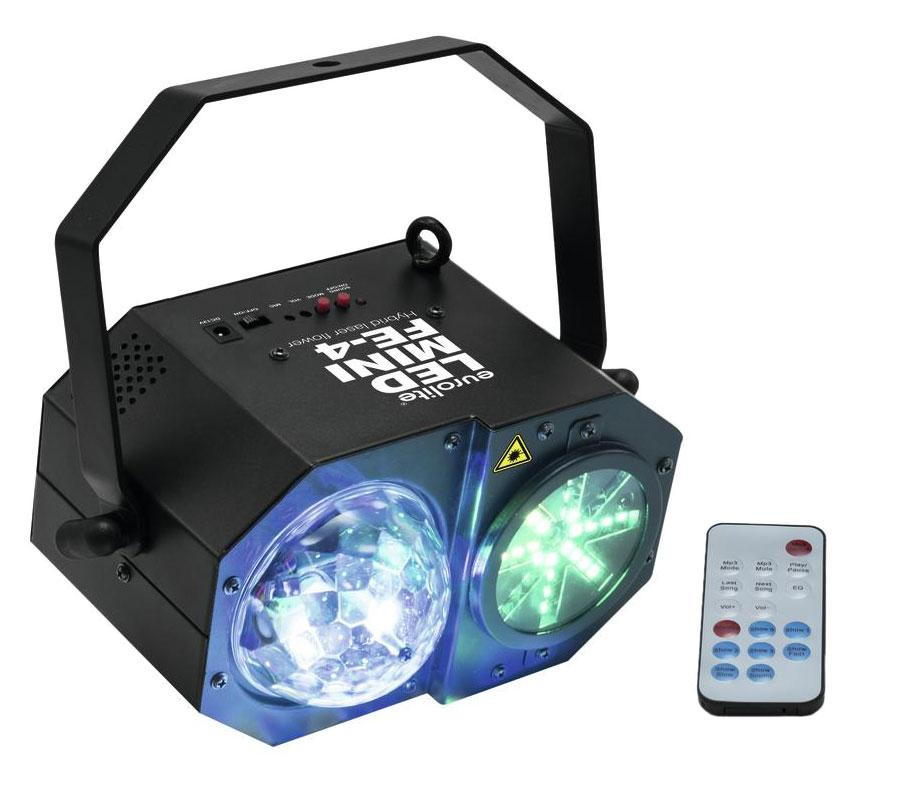 Eurolite LED Mini FE 4 Hybrid Laserflower