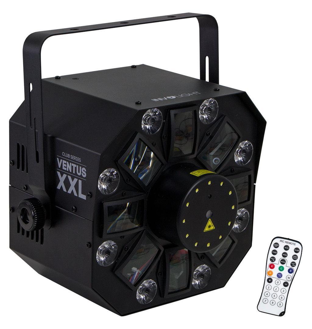 Lichteffekte - Involight VENTUS XXL Hybrid LED Laser Flower - Onlineshop Musikhaus Kirstein