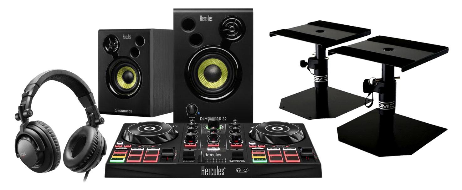 Djkomplettanlagen - Hercules DJ Learning Kit inkl. Tischstative - Onlineshop Musikhaus Kirstein